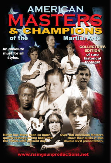 American Masters & Champions of the Martial Arts DVD